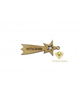 Bethlehem Star Ornament