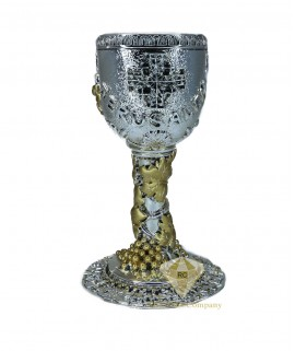 Silver Chalice with The Last Supper