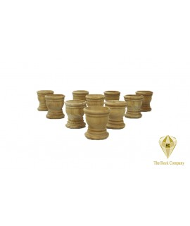 10 pieces Olive wood communion Cup Small Size