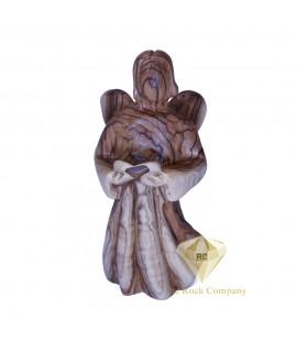 Faceless Olive Wood Angel