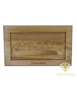 Olive Wood Hand Carved The Last Supper