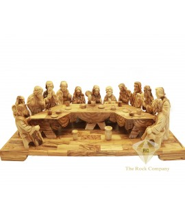 Olive Wood The Last Supper Hand Carved