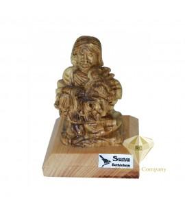 Olive Wood Hand Carved Jesus Sculpture