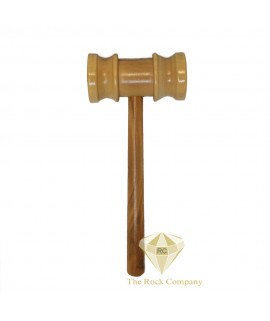 Holy Land Olive Wood Hand Carved Judge Hammer