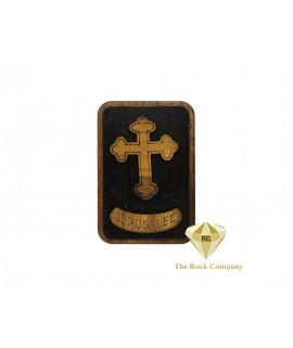 Olive Wood Cross Magnet