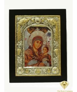 Lady of Bethlehem with Christ icon