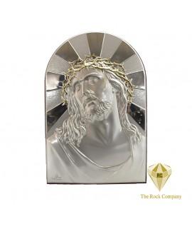 Jesus silver icon