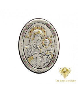 VIRGIN MARY AND BABY JESUS ICON