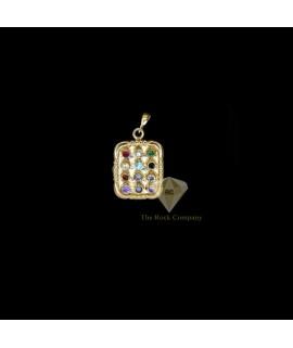 Diamond Twelve Tribes Pendant