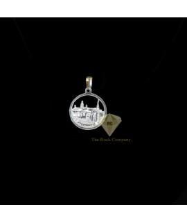 Sterling Silver Bethlehem City Pendant