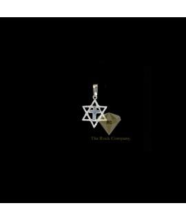 Sterling Silver Star Of David Pendant