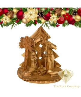 Christmas Nativity Scene olive wood handmade in Bethlehem