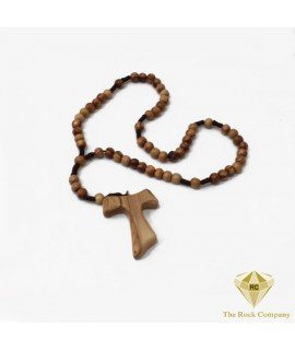 Franciscan Olive Wood Rosary